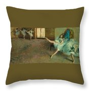Before The Ballet Throw Pillow