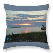Before The Fireworks Throw Pillow