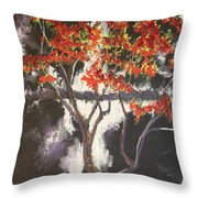 Before The Light Throw Pillow