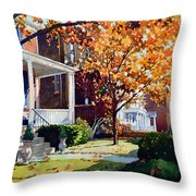 Before The Snow Falls Throw Pillow
