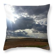 Before The Snow Flies Throw Pillow