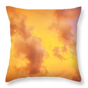 Before The Storm Clouds Stratocumulus 10 Throw Pillow