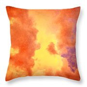 Before The Storm Clouds Stratocumulus 2 Throw Pillow