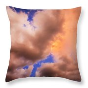 Before The Storm Clouds Stratocumulus 5  Throw Pillow