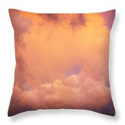 Before The Storm Clouds Stratocumulus 7 Throw Pillow