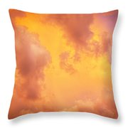 Before The Storm Clouds Stratocumulus 9 Throw Pillow