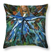 Before We Drain In The Snow Throw Pillow