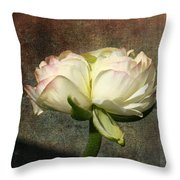 Begonia With A Tint Of Pink Throw Pillow