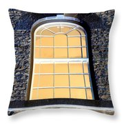 Behind That Window Throw Pillow