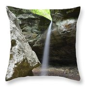 Behind The Boulders Throw Pillow