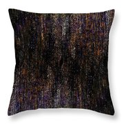 Behind The Curtain Throw Pillow by Christopher Gaston