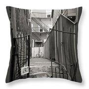 Behind The Gates Throw Pillow