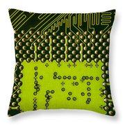 Behind The Processor Socket Throw Pillow
