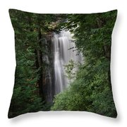 Behind The Trees Throw Pillow