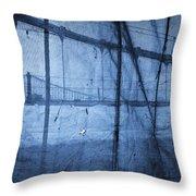 Behind The Veil - New York City Throw Pillow