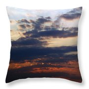 Behold The Dawn Throw Pillow