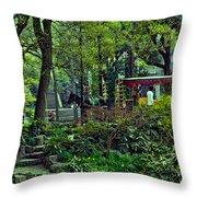 Beijing Gardens Throw Pillow