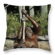 Being A Kid Throw Pillow