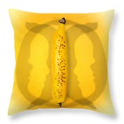 Being Bananas From Inversions In The Multiverse Throw Pillow