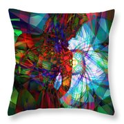 Being Chakra Throw Pillow