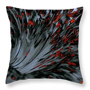Being Drawn In Throw Pillow