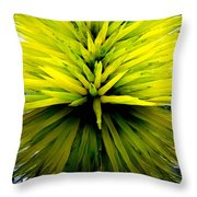 Being Green Throw Pillow