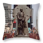 Being In But Not Of The World Throw Pillow
