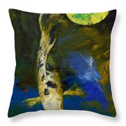 Bekko Butterfly Koi Throw Pillow by Michael Creese