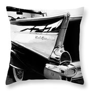 Bel Air Bw Palm Springs Throw Pillow by William Dey
