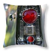 Bel Air Taillight Throw Pillow