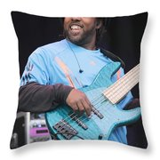 Bela Fleck And The Flecktones Throw Pillow