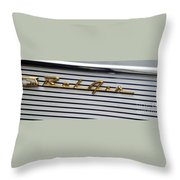 Belair Logo Throw Pillow