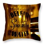 Belfast Sparkling Water Throw Pillow