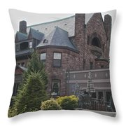Belhurst Castle Throw Pillow