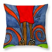 Believing I Can Throw Pillow