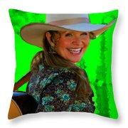 Belinda Gail Throw Pillow