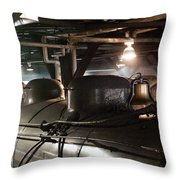 Bell And Chimney Throw Pillow