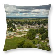 Bell Helicopter Throw Pillow