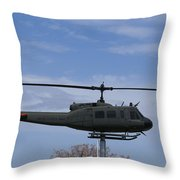 Bell Helicopter Uh-1 Iroquois - Huey Throw Pillow