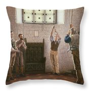 Bell Ringers Throw Pillow