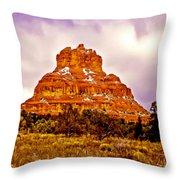 Bell Rock Sedona Az Throw Pillow