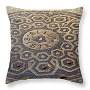 Bell System Throw Pillow