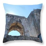 Bell Tower 1386 Throw Pillow