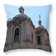 Bell Towers Throw Pillow