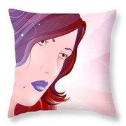 Bella Donna I Throw Pillow