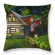 Bella Machree Throw Pillow