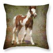 Bella Rose Throw Pillow