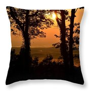 Bella Vista Sunset 2 Throw Pillow