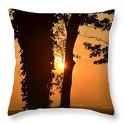 Bella Vista Sunset 3 Throw Pillow