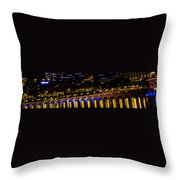 Bellagio Lagoon Walkway Throw Pillow